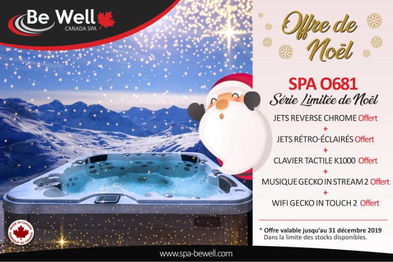 Offre de Noël Spa Be Well - Série Limitée